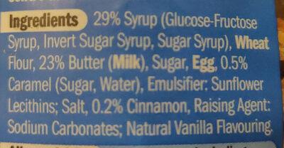 Gaufres au caramel - Ingredients - en