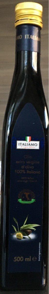 Olio extra vergine di oliva 100 % Italiano - Product - fr