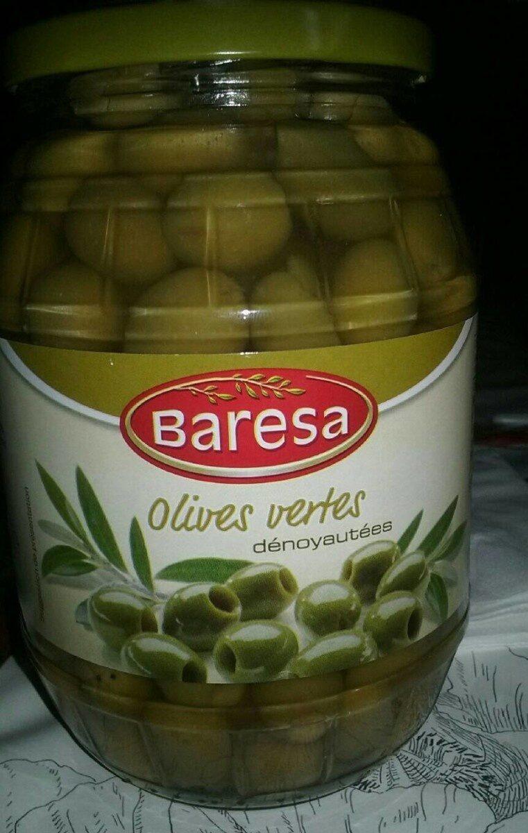 Olives vertes denoyautes - Product - fr