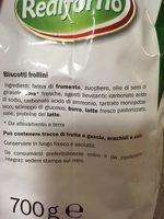 Fior Di Grano - Ingredients - fr