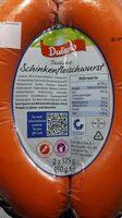 Schinkenfleischwurst - Nutrition facts - de