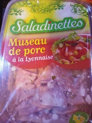Museau de porc à la Lyonnaise - Produit