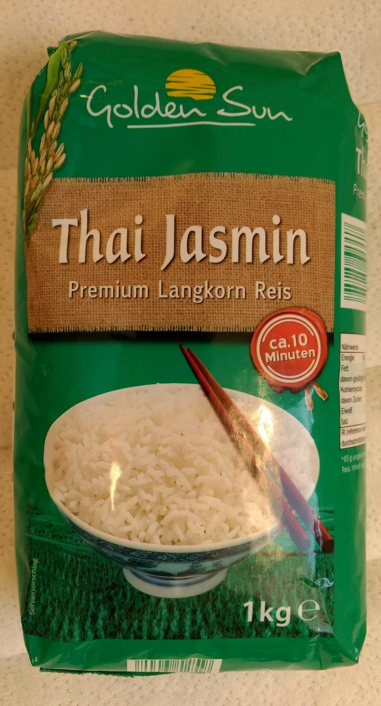 Thai Jasmin (riz long grain) - Product
