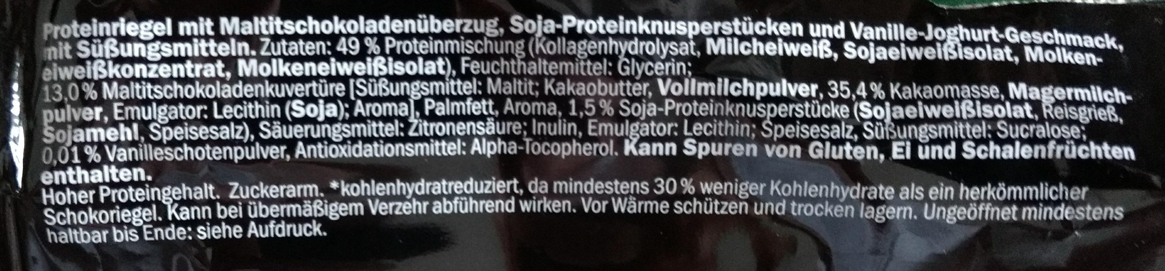 Protein bar - Ingredients