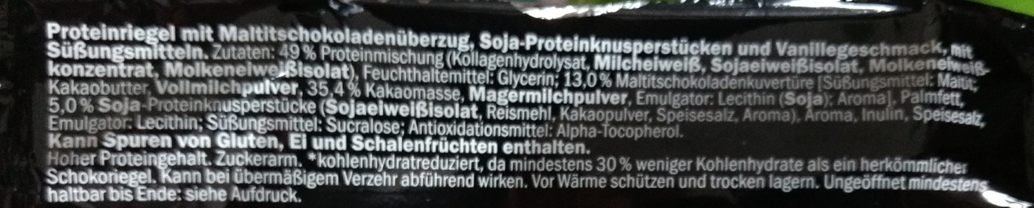 Barre protéines - Ingredientes - de