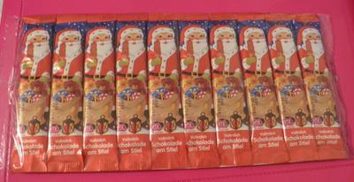 Vollmilch Schokolade am Stiel - Produit
