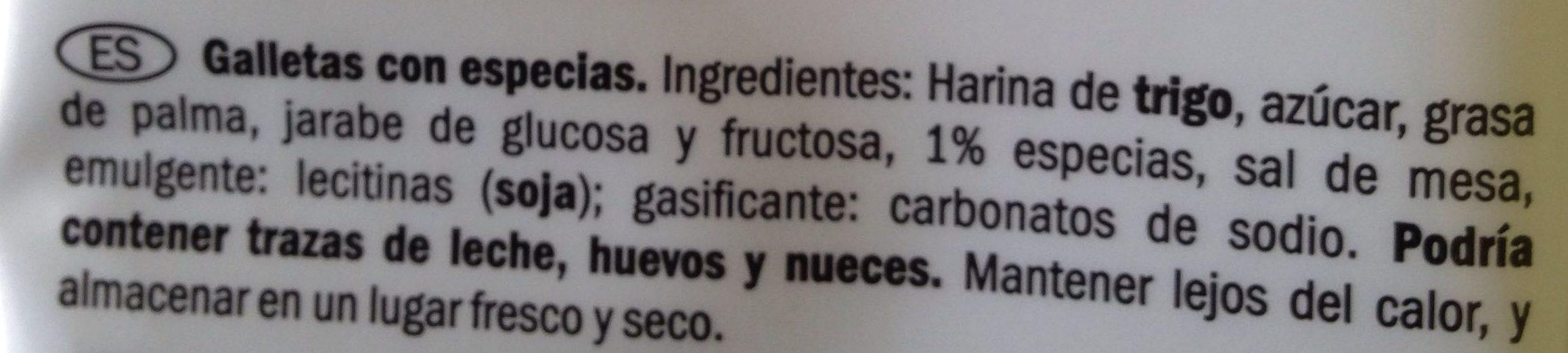 Speculoos - Ingredientes