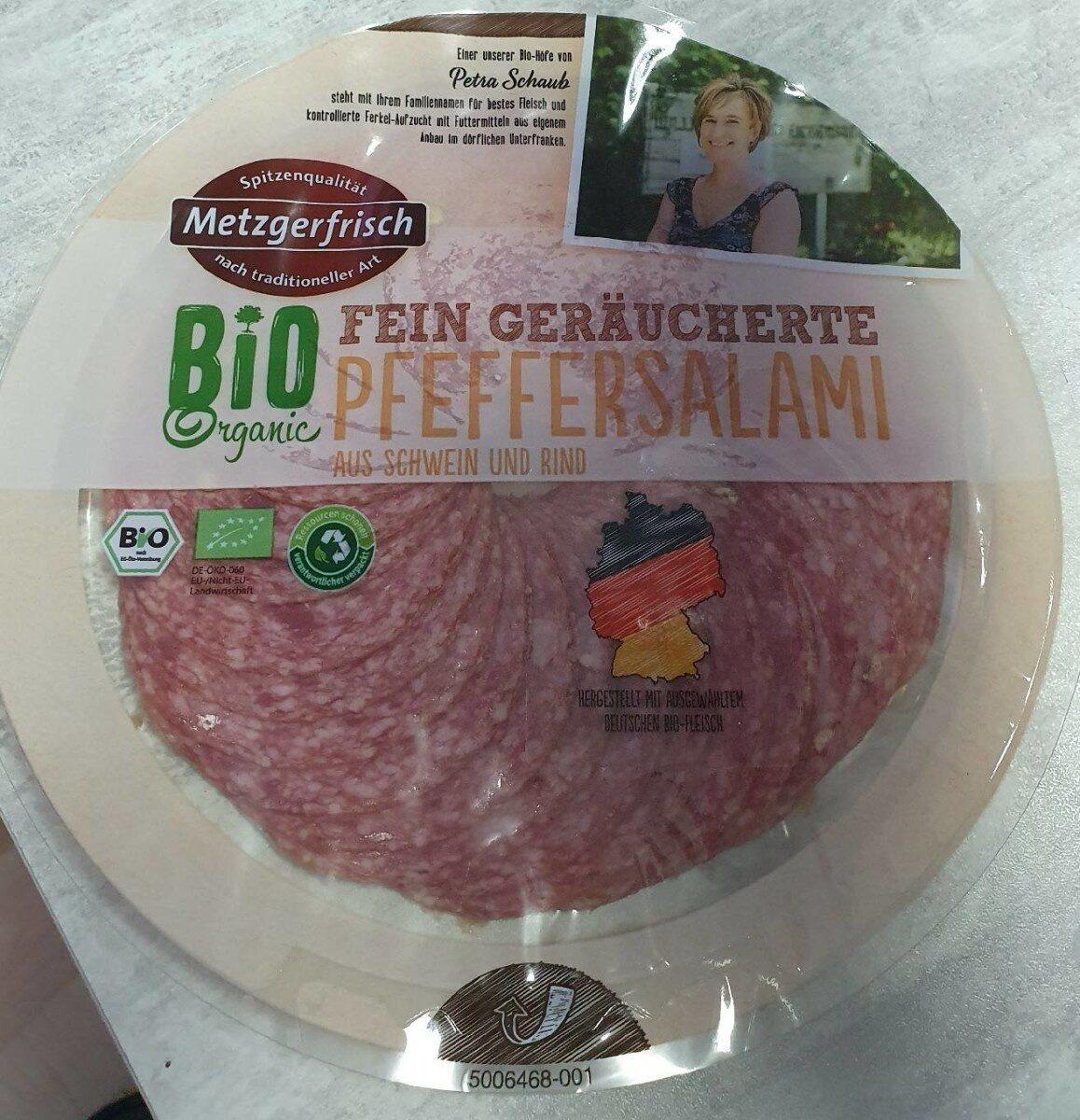 Fein Geräucherte Pfeffersalami - Produkt - de