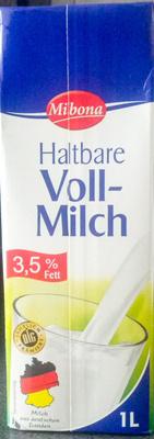 Lait entier (3,5 % MG) - Produkt