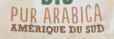 Café bio pur arabica amerique du sud - Ingredients