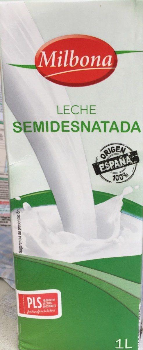 LECHE SEMIDESNATADA - Produit - fr