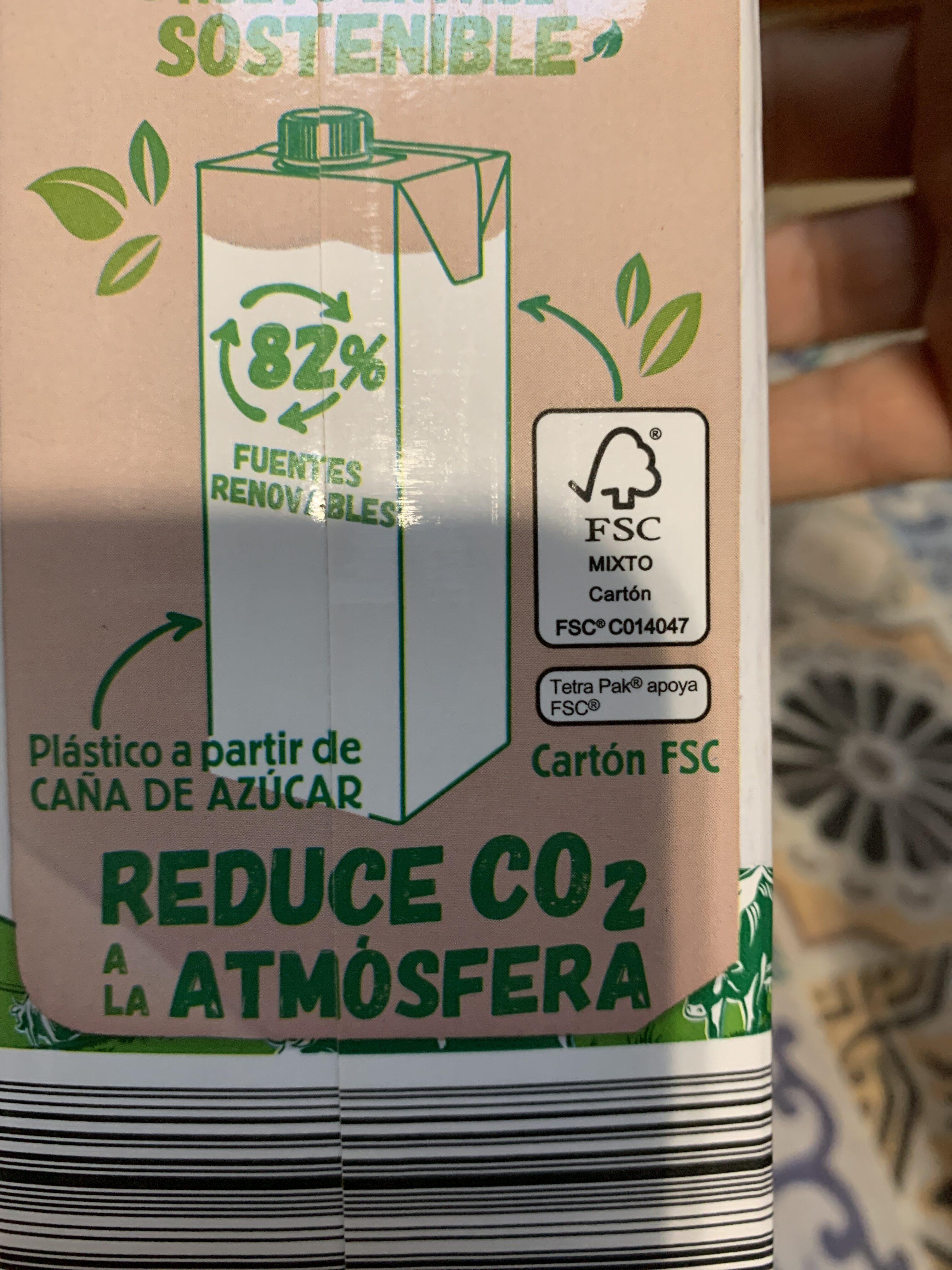LECHE SEMIDESNATADA - Instruction de recyclage et/ou informations d'emballage - es