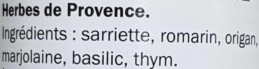 Herbes de Provence - Ingredienti - fr