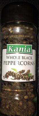 whole black peppercorns - Produit