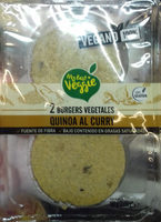 2 burgers vegetales quinoa al curry - Product - es