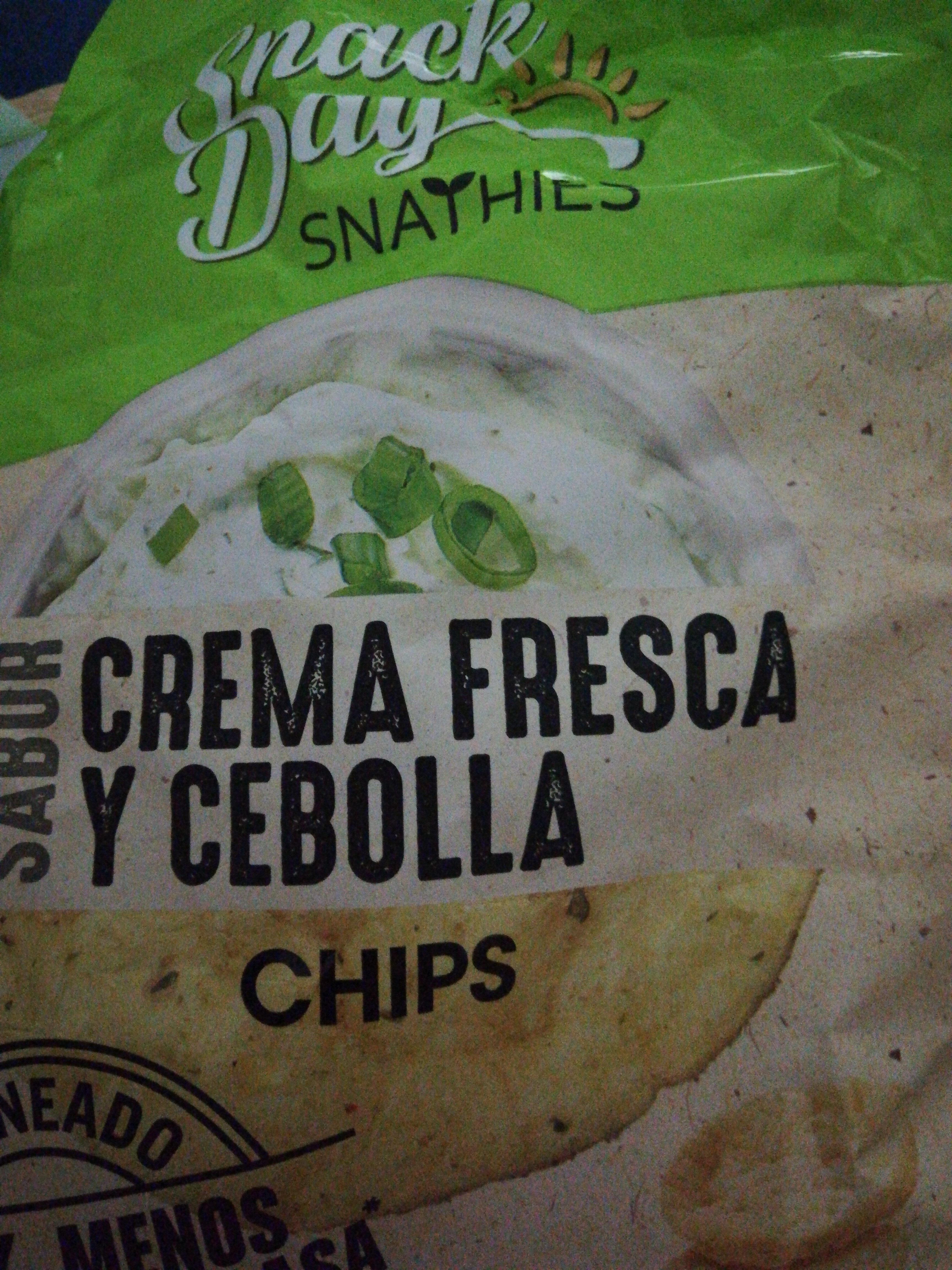 Chips snack day crema fresca y cebolla - Producto