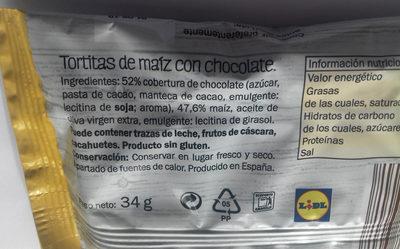 Tortitas de maíz con chocolate - 10
