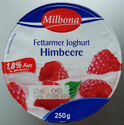 Fettarmer Joghurt mit 24% Himbeerzubereitung - Produit - fr
