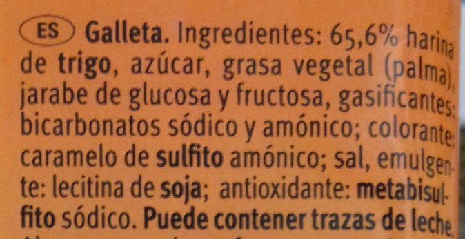 Tostada - Ingrediënten - es