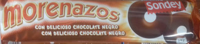 Morenazos con chocolate negro - Producte