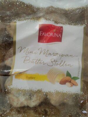 mini marzipan butter stollen - Produit - fr