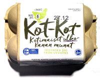 Kot-Kot Kotimaiset ulkokanan munat - Product - fi