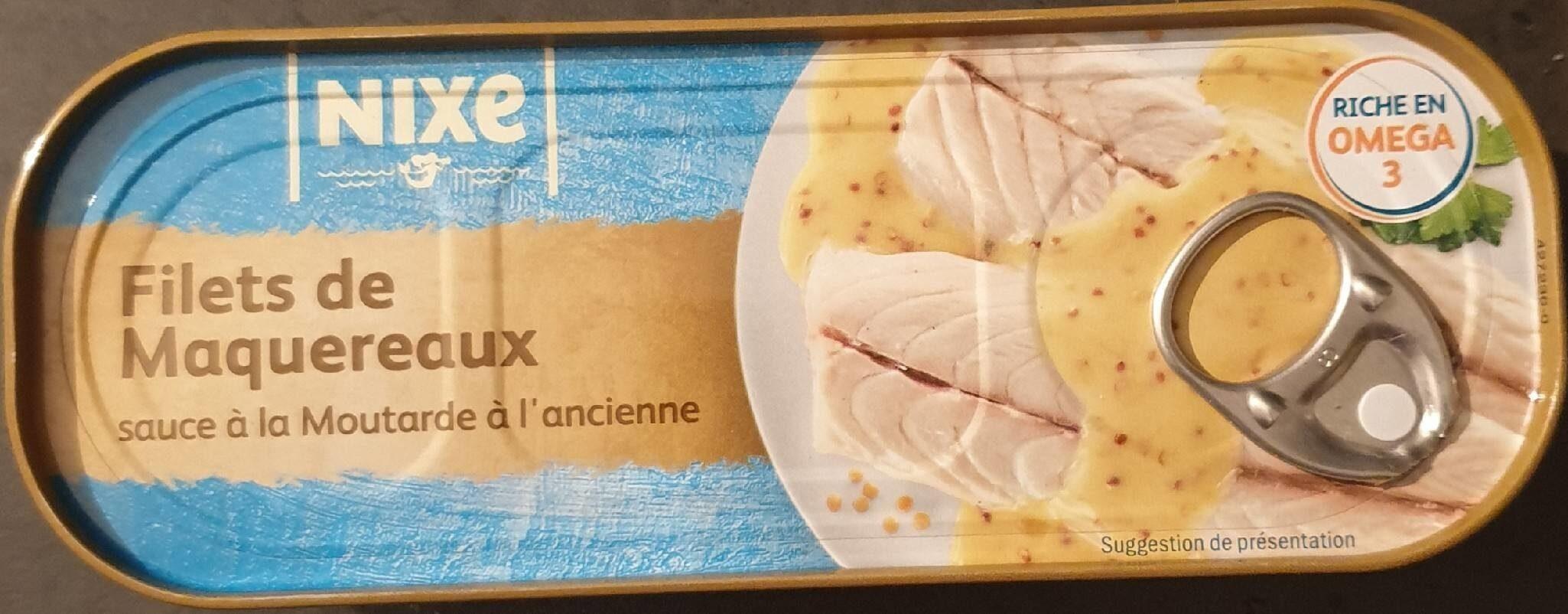 FILETS DE MAQUEREAUX sauce moutarde à l'ancienne - Product - fr