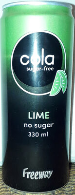 Cola sugar-free lime - Product