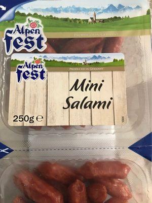 Mini salami - Product