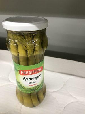 Asperges vertes - Ingredients