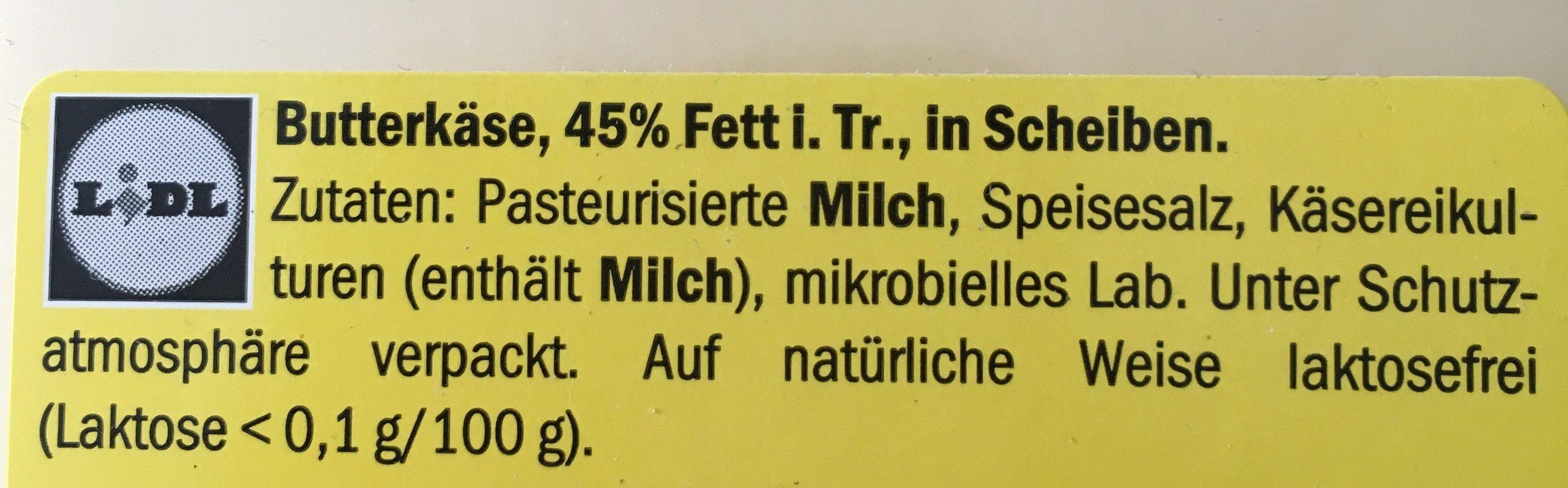 Käse - Ingrediënten - en