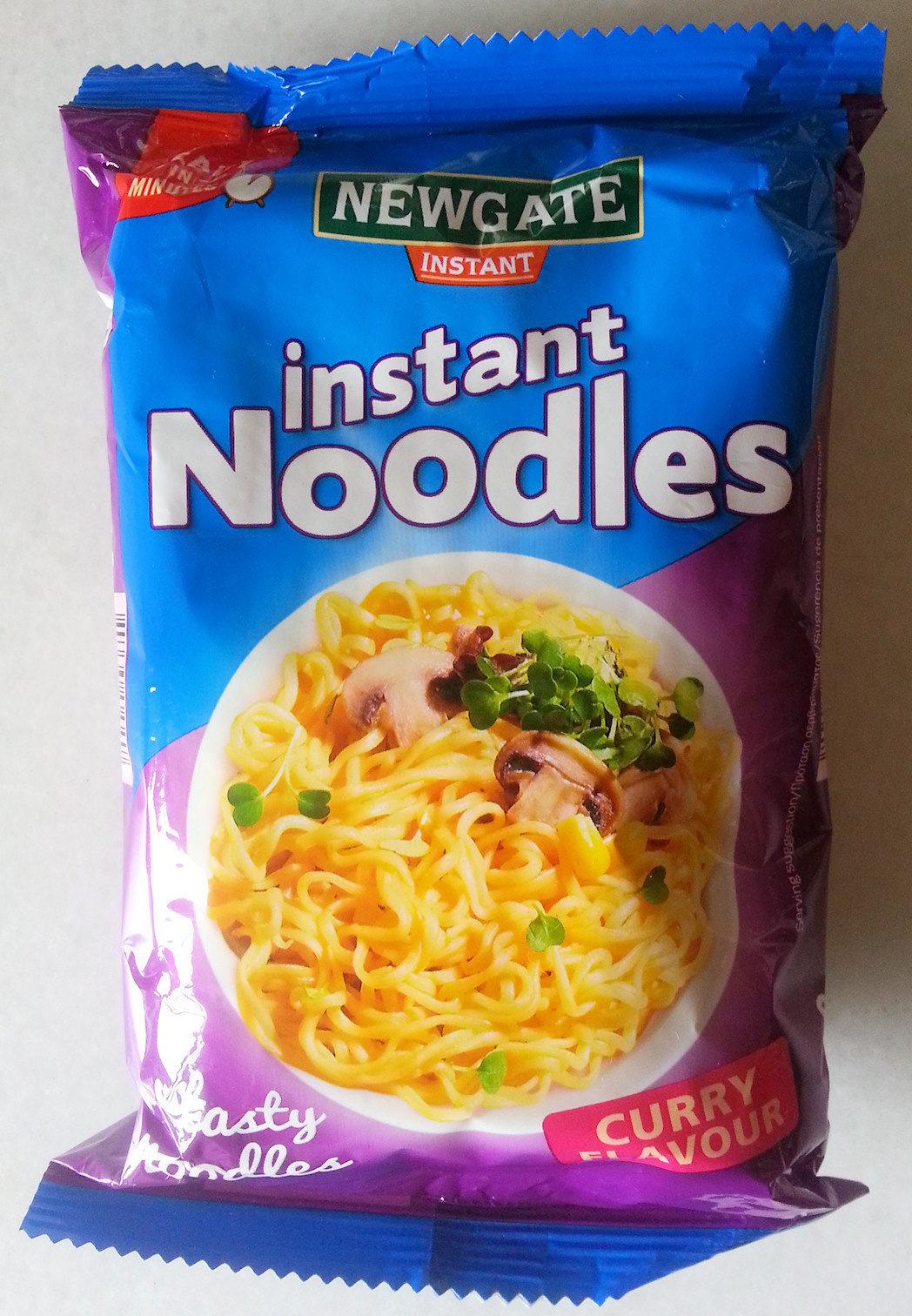 Instant Noodles Curry Flavour - Producto