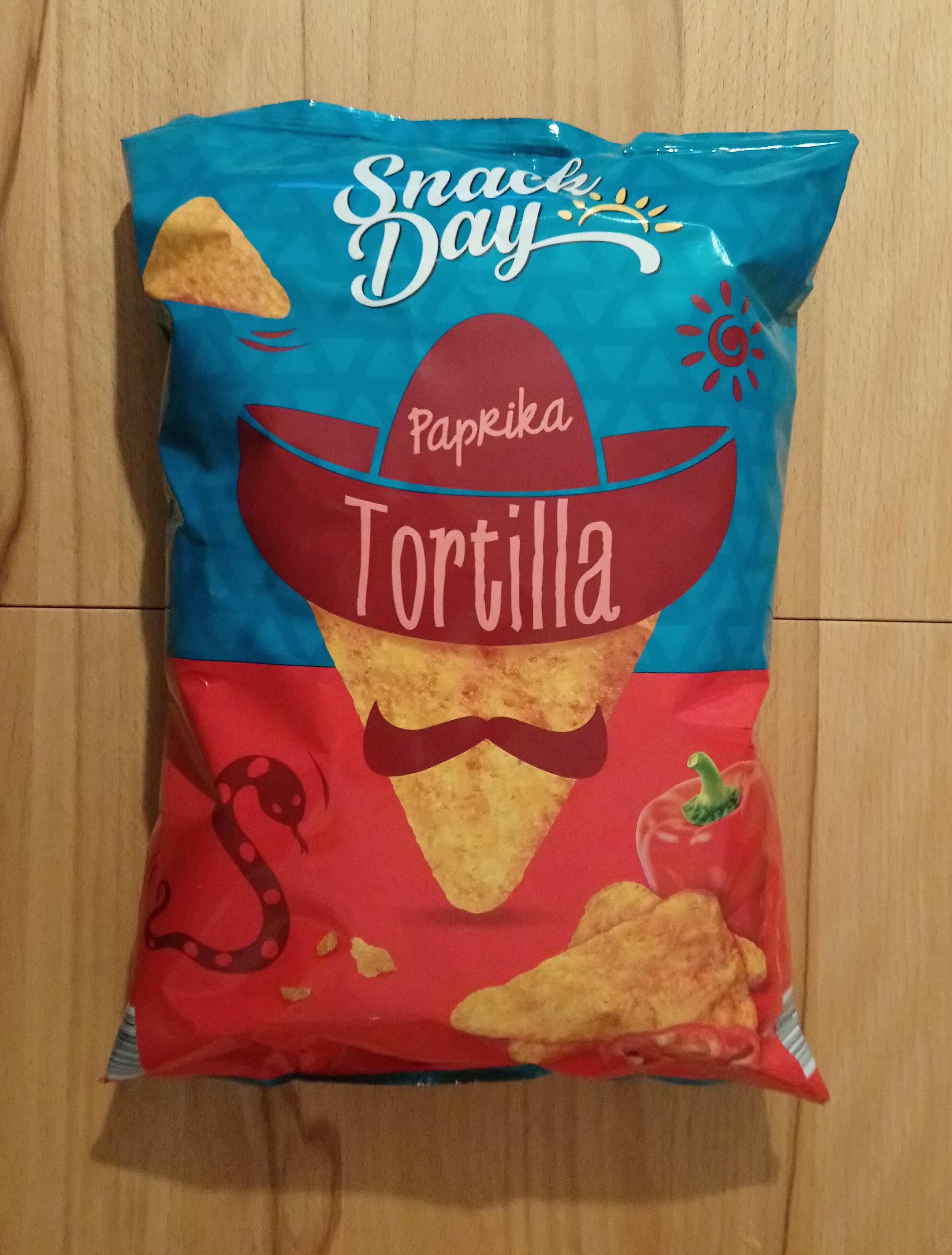 Tortilla paprika - Produit