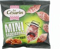 Mini saucissons aux noix - Produit - fr