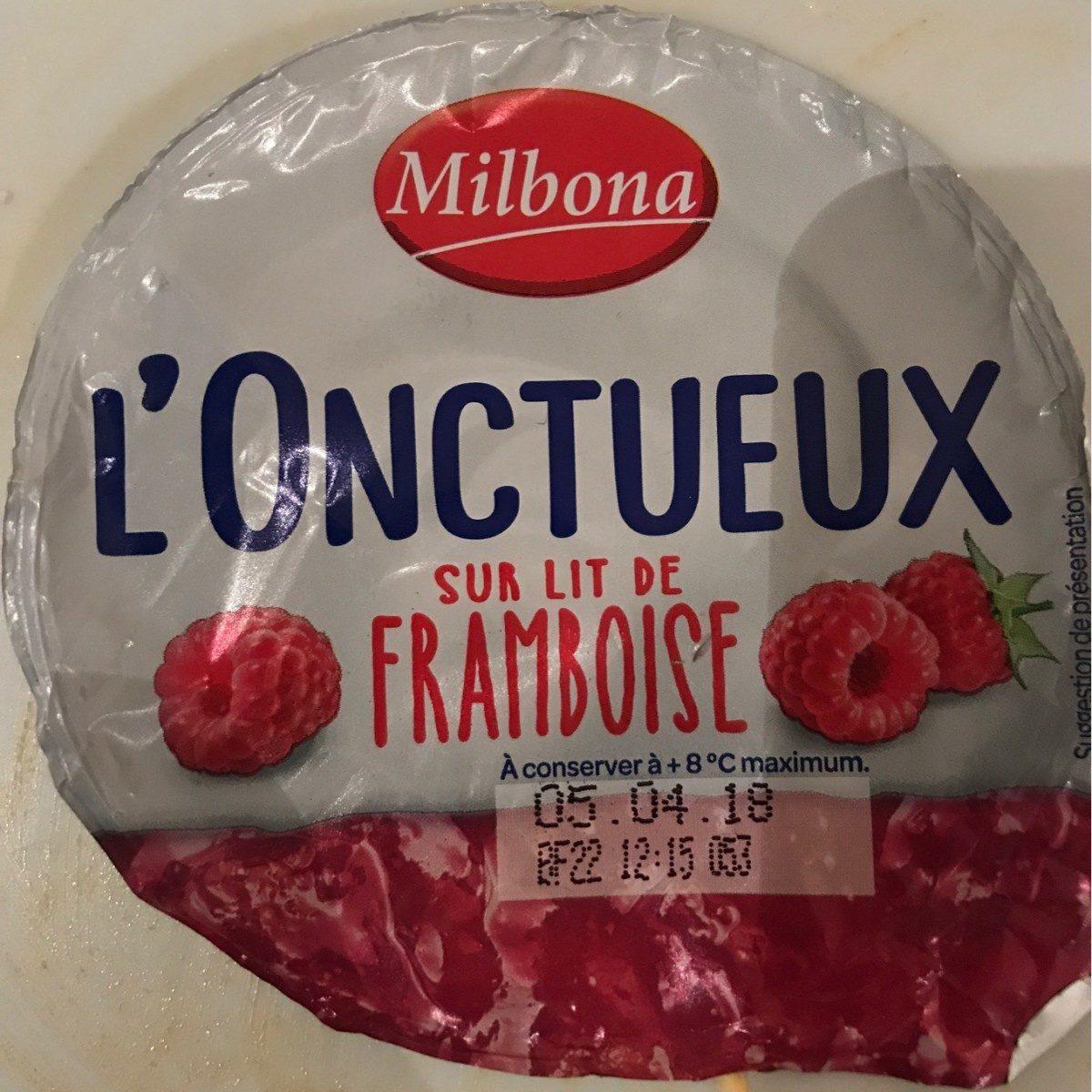 L'onctueux framboise - Produit - fr