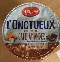 L'onctueux sur lit cafés amandes - Product - fr