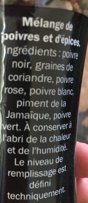 Melange 5 baies - Ingredienti - fr