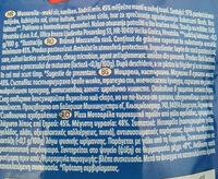 Mozzarella - Ingredienti - ro