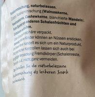 Mixed Nuts - Zutaten - de