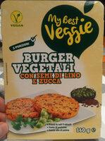 Burger vegetali - Prodotto