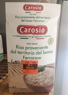Riso del basso Ferrarese - Producto - it
