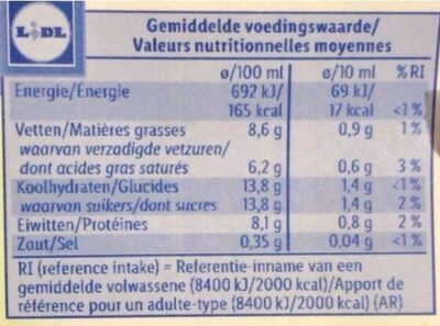 Milpro Fettarmer Fruchtjoghurt, Aprikose - Nutrition facts - en