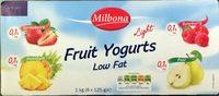 Fruit Yogurts Low Fat - Producto
