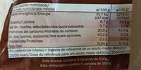 Patatas Wedges condimentadas - Valori nutrizionali - es