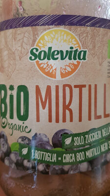 Bio Mirtillo - Produit