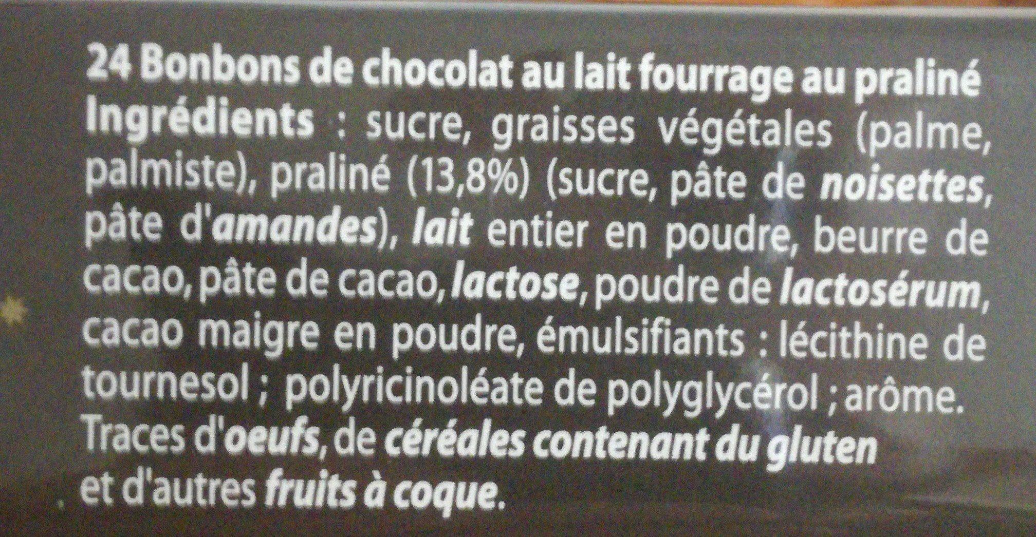 Escargots praliné - Ingredients - fr