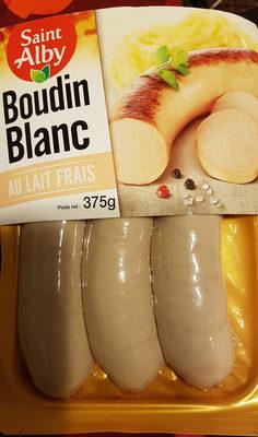 Boudins blancs - Produit