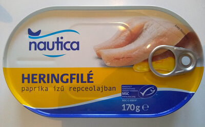 Heringfilé paprika - Produit - hu