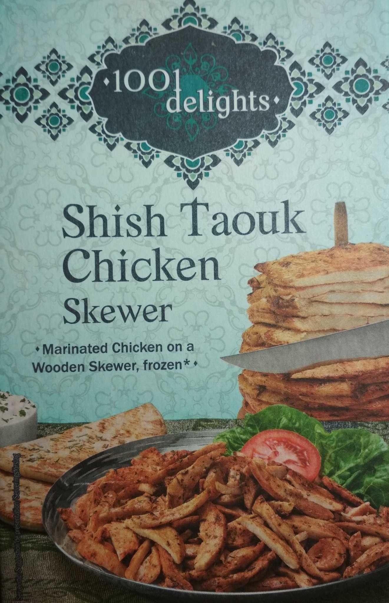 Shish taouk chiken - Producto