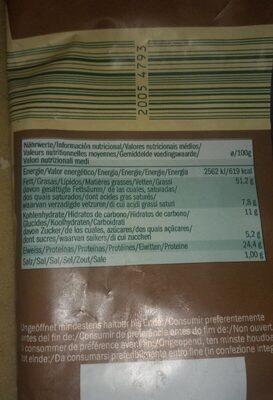 Cashews - Nutrition facts - it